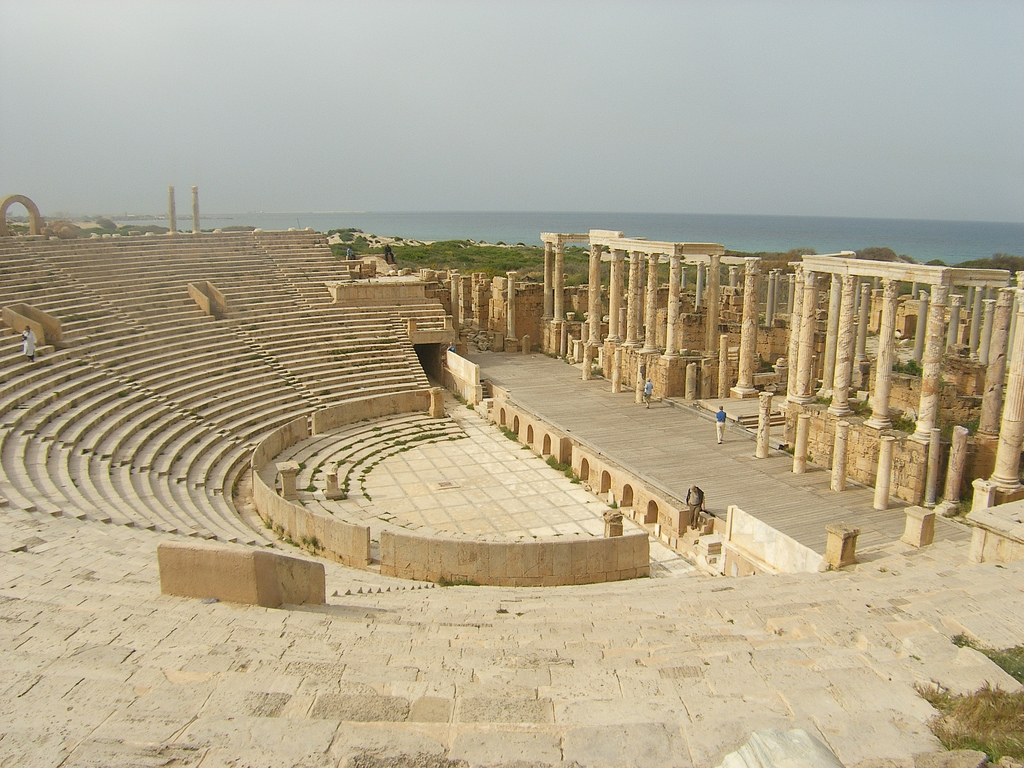 Leptis-Magna-theatre-by-Robbo-Man